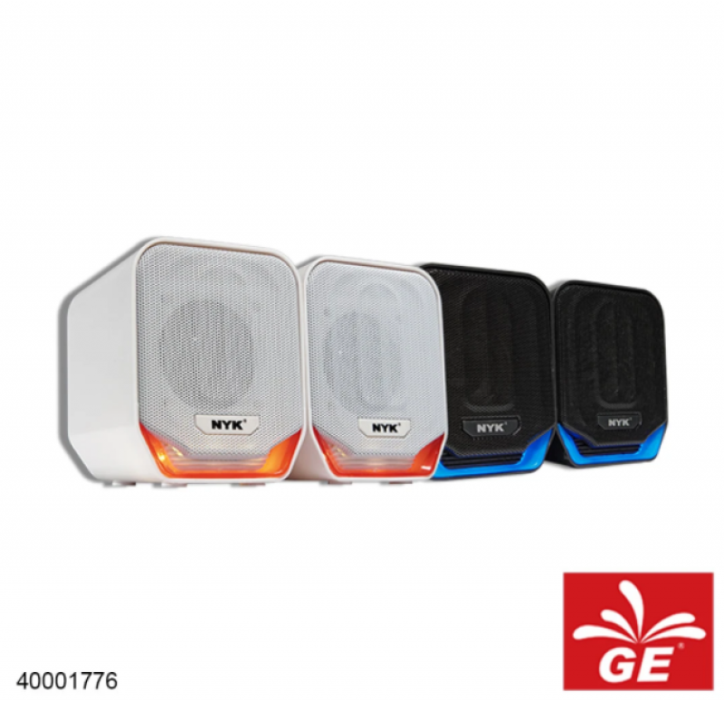 Gaming Speaker NYK NEMESIS SP-N01 Hitam/Putih 40001776/77