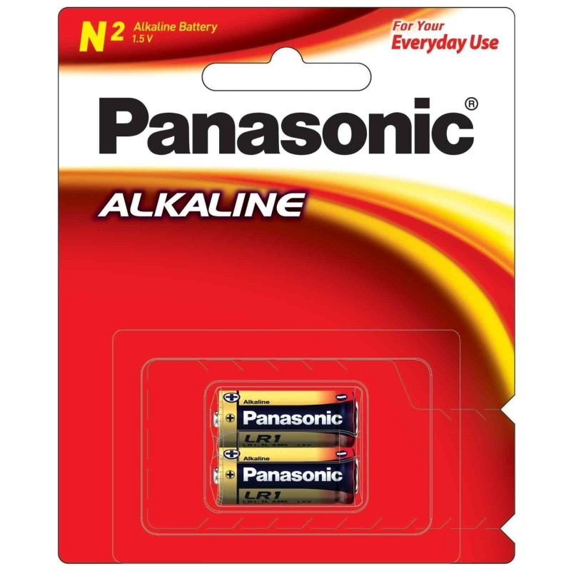 Baterai Coin PANASONIC N2 LR1T 1.5V 02009686