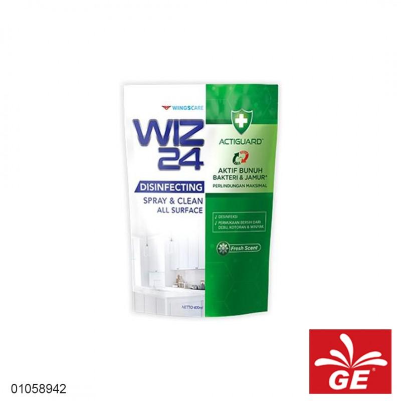 Disinfektan Refill WIZ24 Clean Scent 400ml 01058942