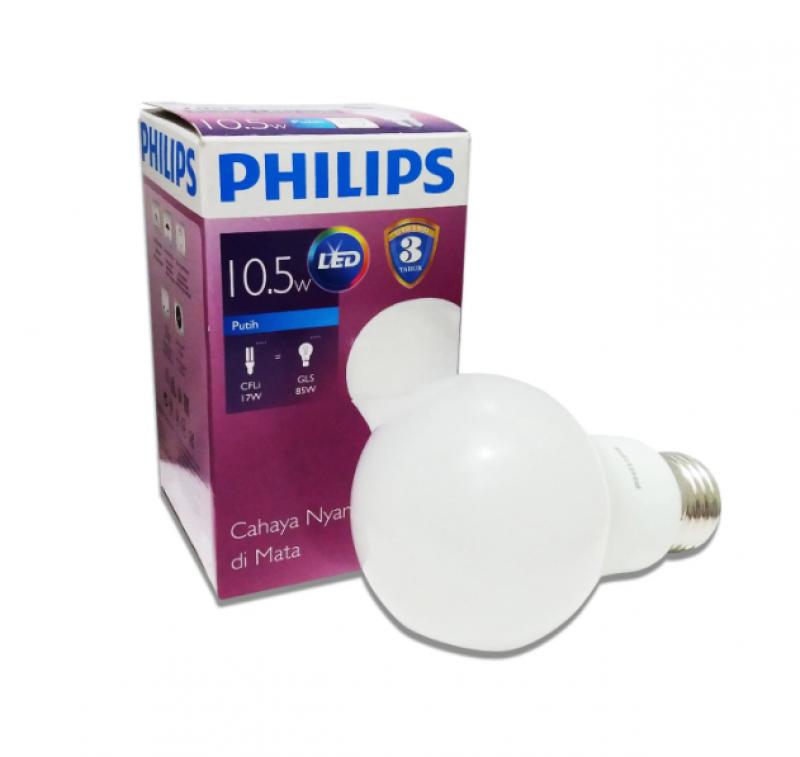 Lampu Bohlam PHILIPS Bulb Cool Daylight 10.5W 02018326