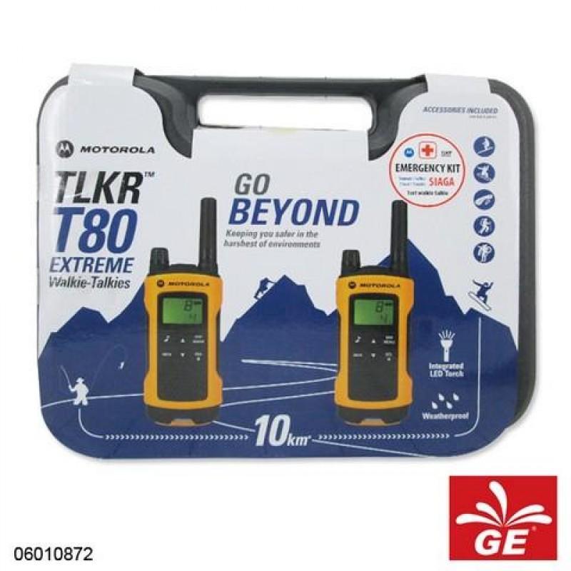 MOTOROLA TLKR T80 EXTREME WALKIE TALKIE CONSUMER RADIO 06010872