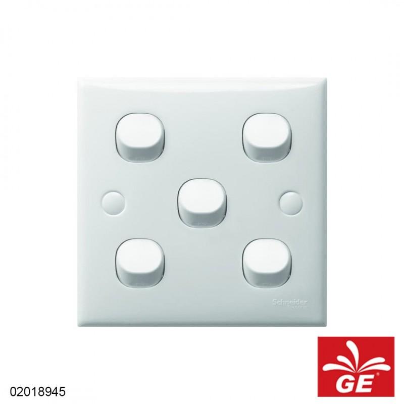 Saklar Seri SCHNEIDER ELECTRIC S-Classic 5Gang/6Gang 02018945
