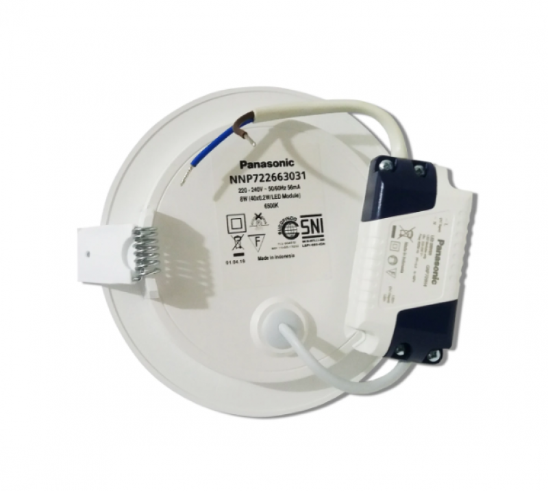Lampu Downlight LED PANASONIC NNP 722663031 Cool Daylight 8W