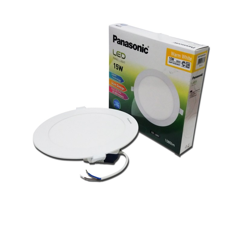 Lampu Downlight LED PANASONIC NNP 745563031 Warm White 15W 170mm