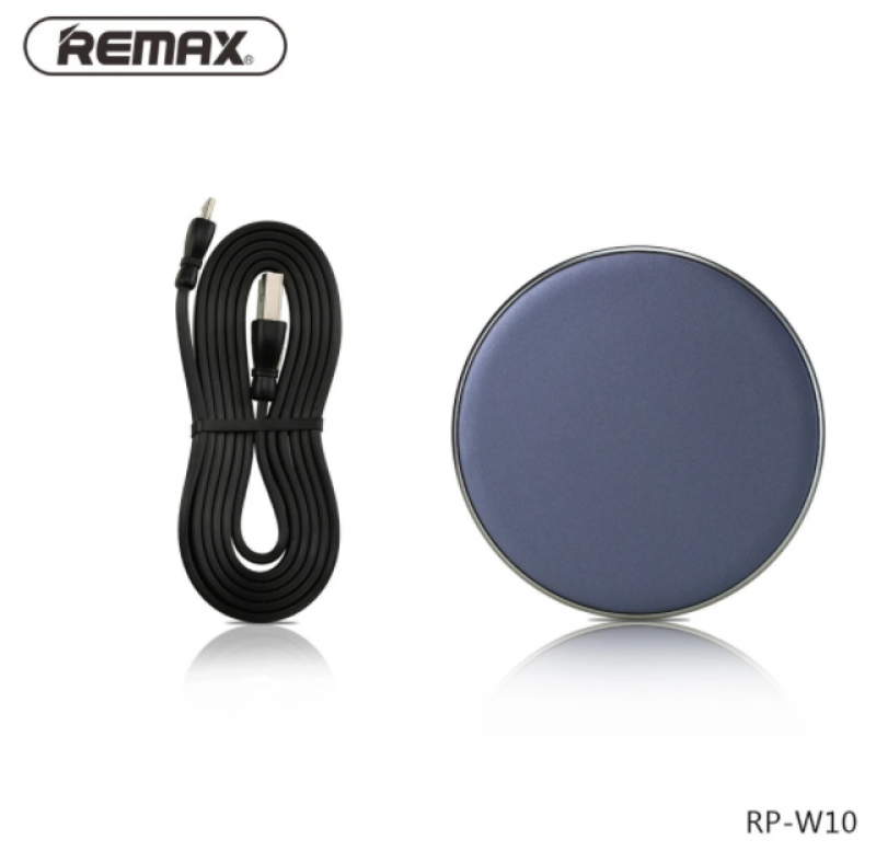 Charger REMAX RP-W10 Infinite Wireless Biru 40001052