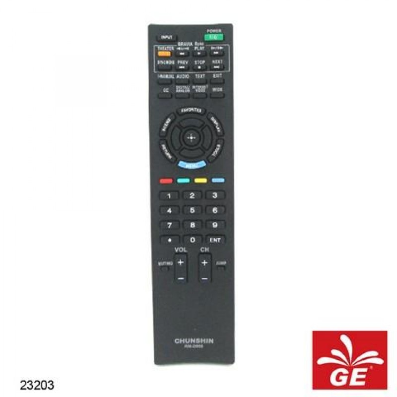 REMOTE CHUNSHIN TV LED SONY RM-D959 23203