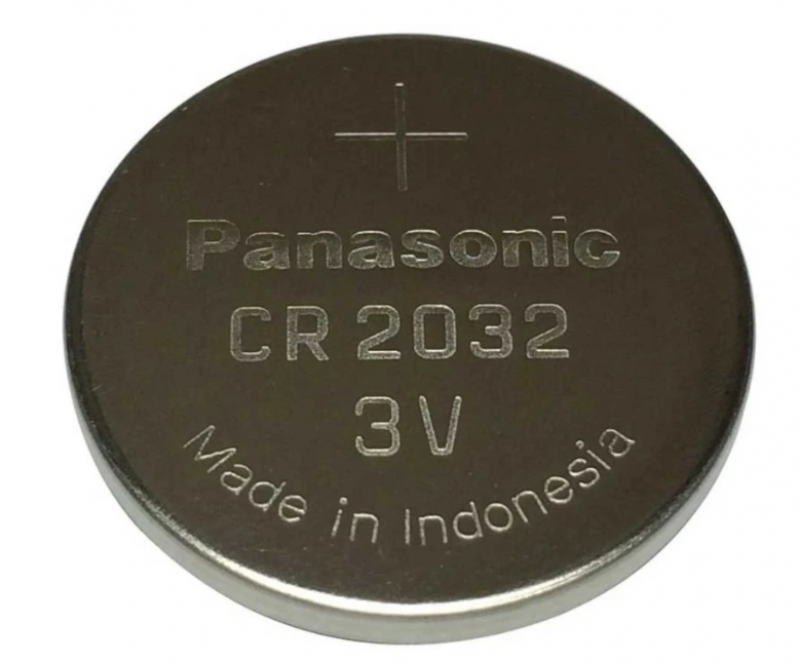 Baterai Coin PANASONIC CR2032 Lithium 3V 1 Pack 21000279