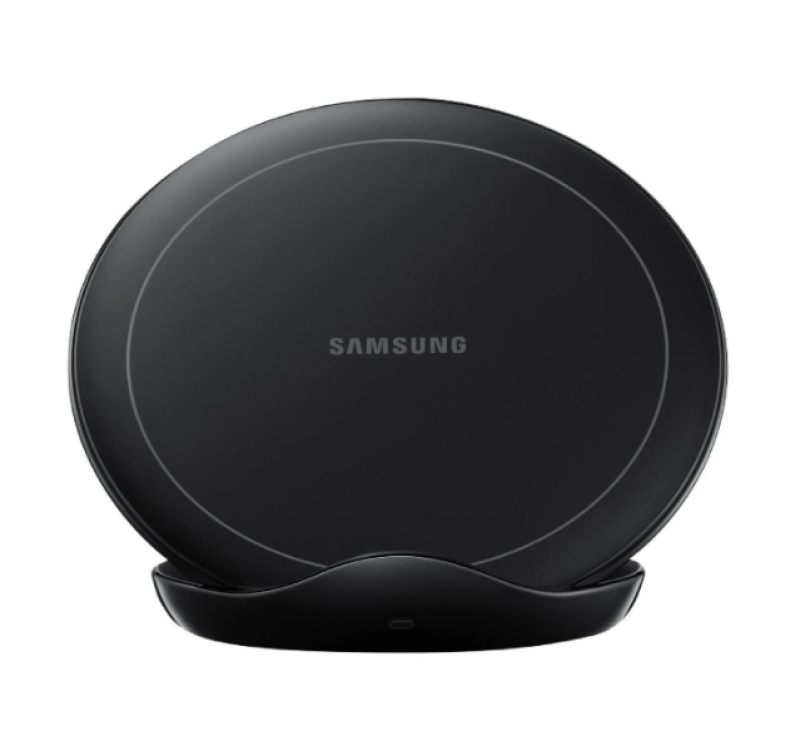 Charger SAMSUNG Wireless Stand With Wall Charger Hitam 40000840