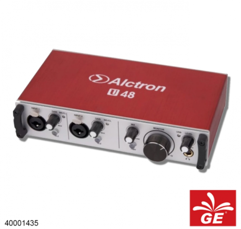 Soundcard Audio ALCTRON U48 24Bit Channel USB Audio Interface
