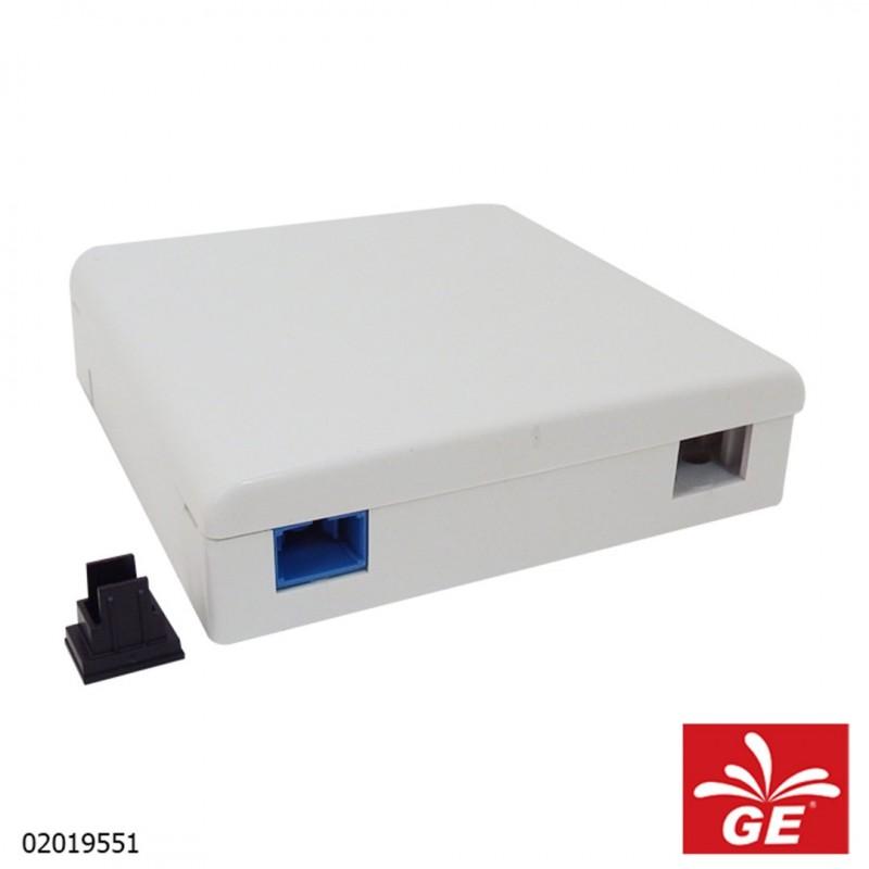 Adapter X-FO Patch Rosette Module 2 Core Adapter 1 Core 02019551