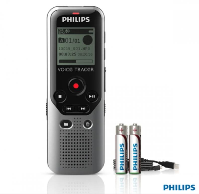 Philips Voice Recorder DVT 1200 4GB