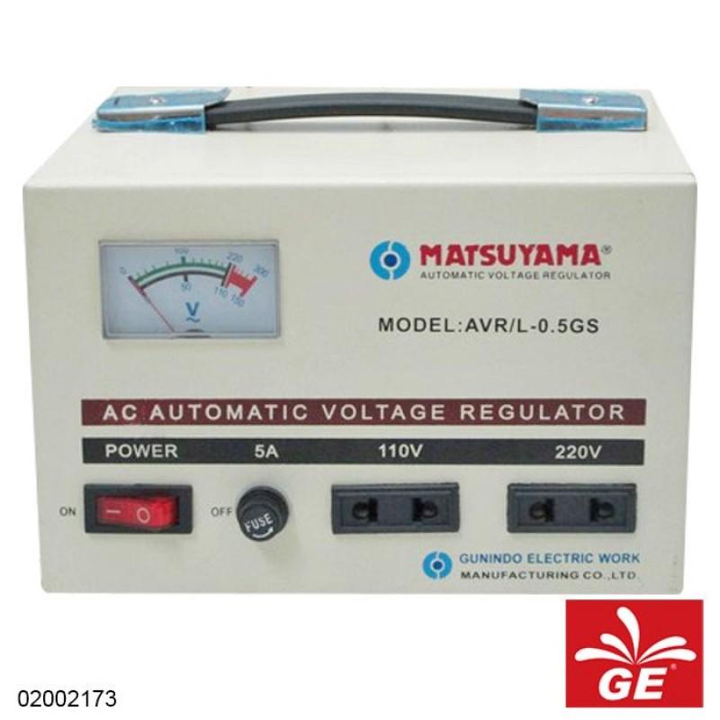 MATSUYAMA STABILIZER AVR/L-0.5GS 500VA 02002173