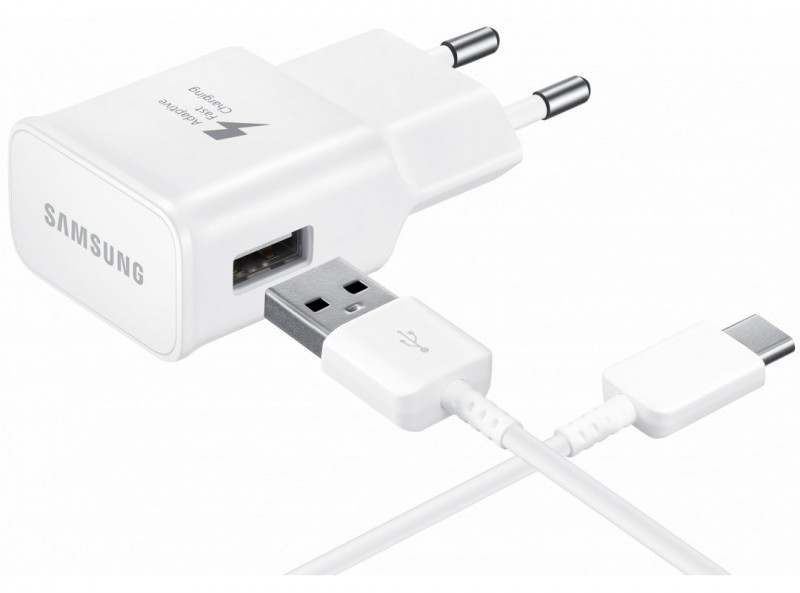 Kabel Data SAMSUNG EP-TA20EWEGKR Travel Adapter Fast Charge 15W