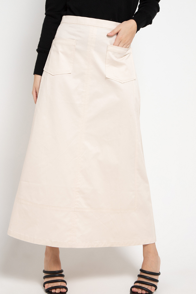 Apache Midi Skirt Cream 0735