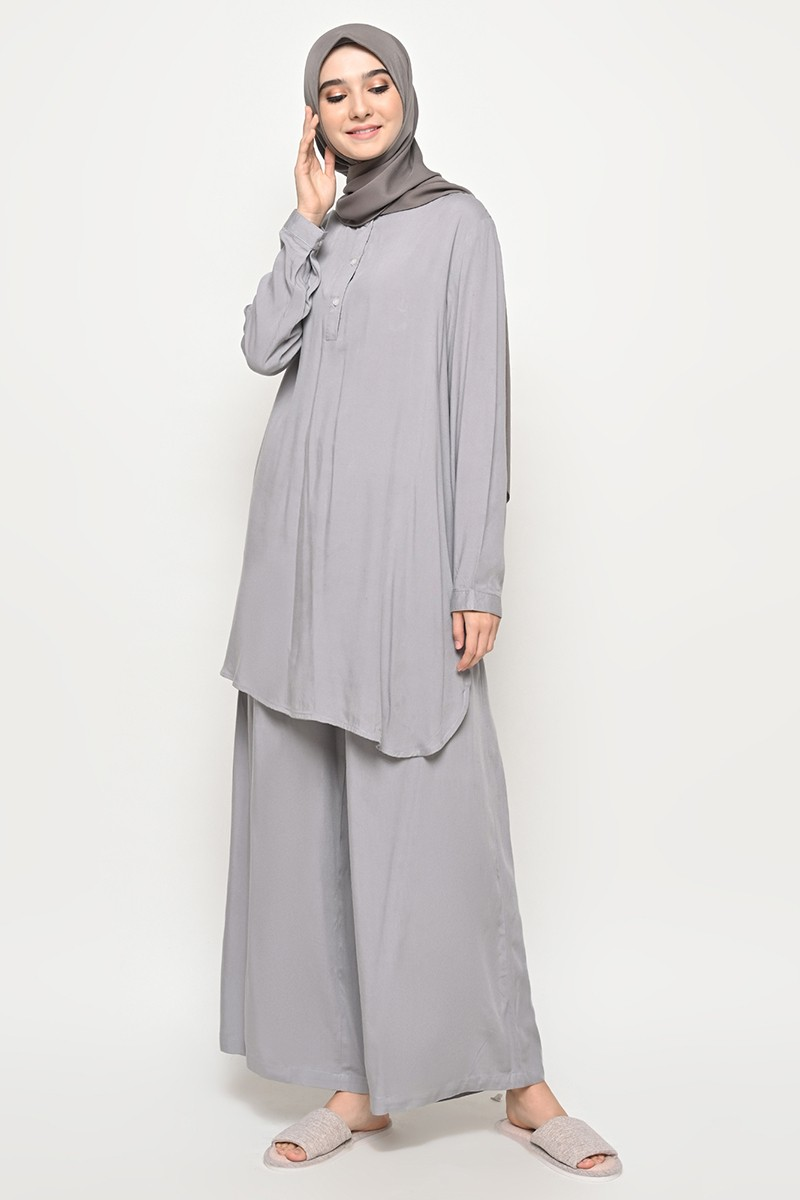 Caballo Homewear Set Light grey