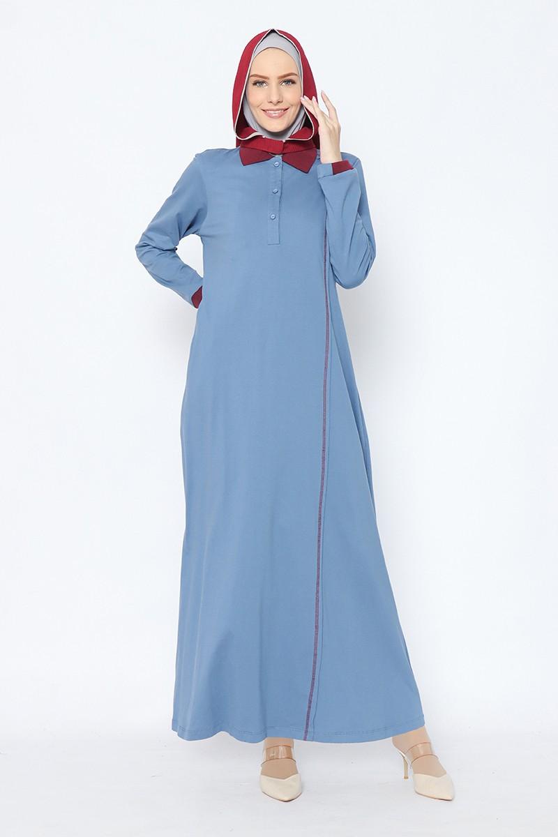 Altura dress steel blue