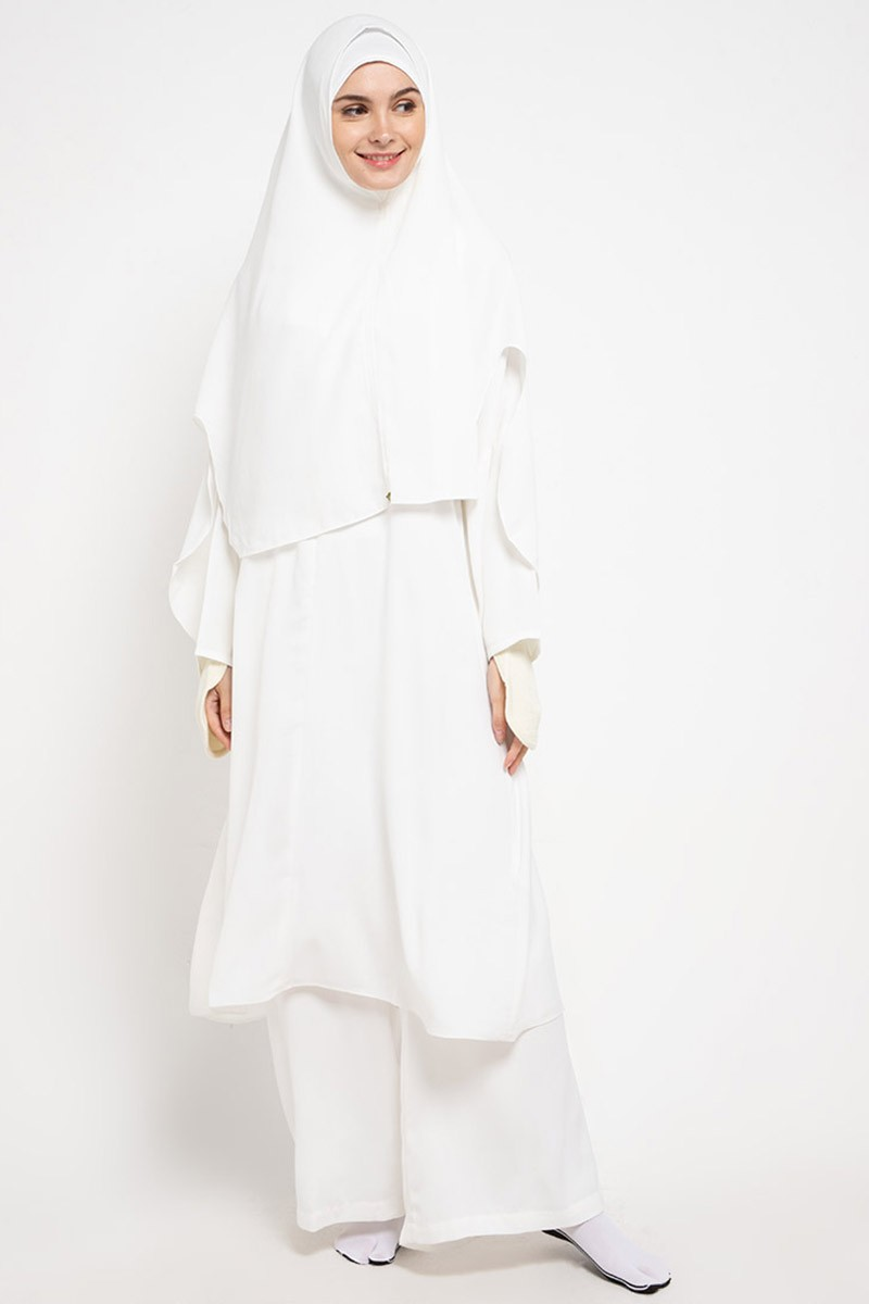 Askha Tunic Set Epaulette Off White