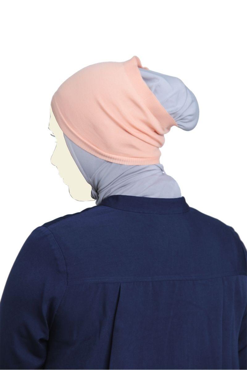 Headband Knitting Dusty Peach Nw