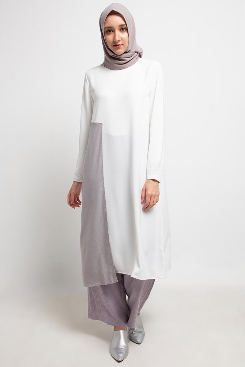 Corrado Tunic Plain 0565 0619 S.White