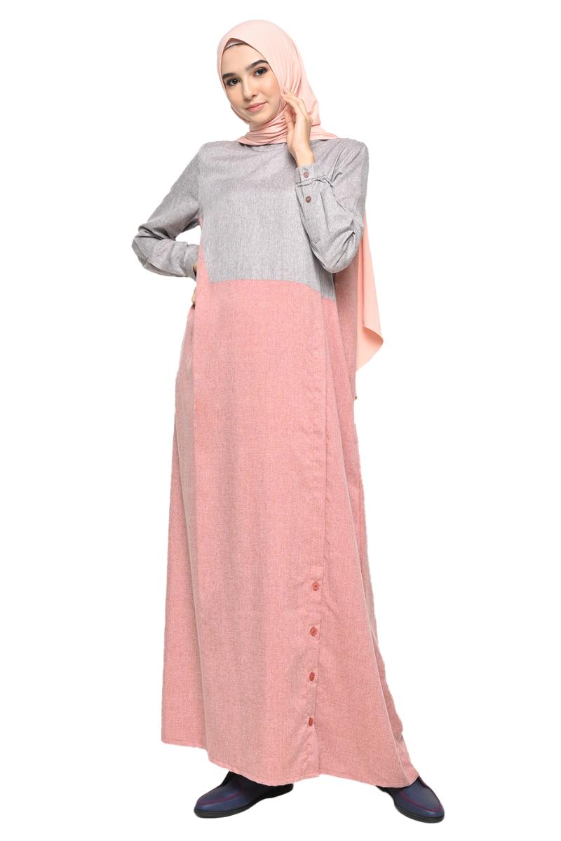 Chandler Dress 2in1 Pink 0146