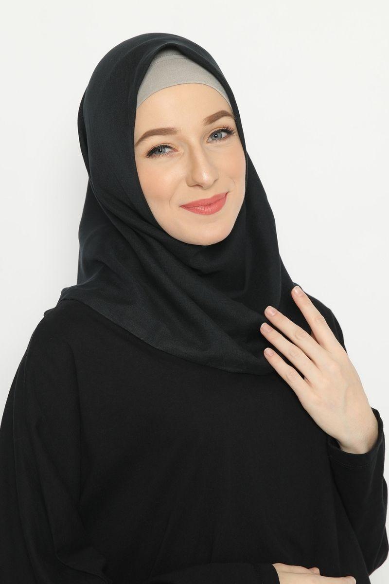 Nomie Instan Headwear Black