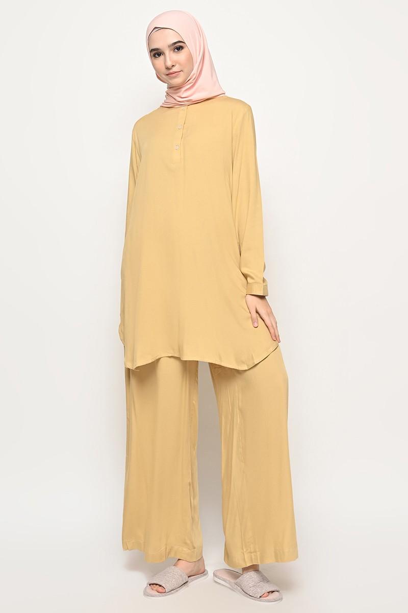 Caballo Homewear Set Butter Yellow