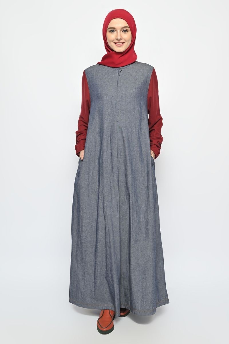 Tarquin Dress Denim 0421