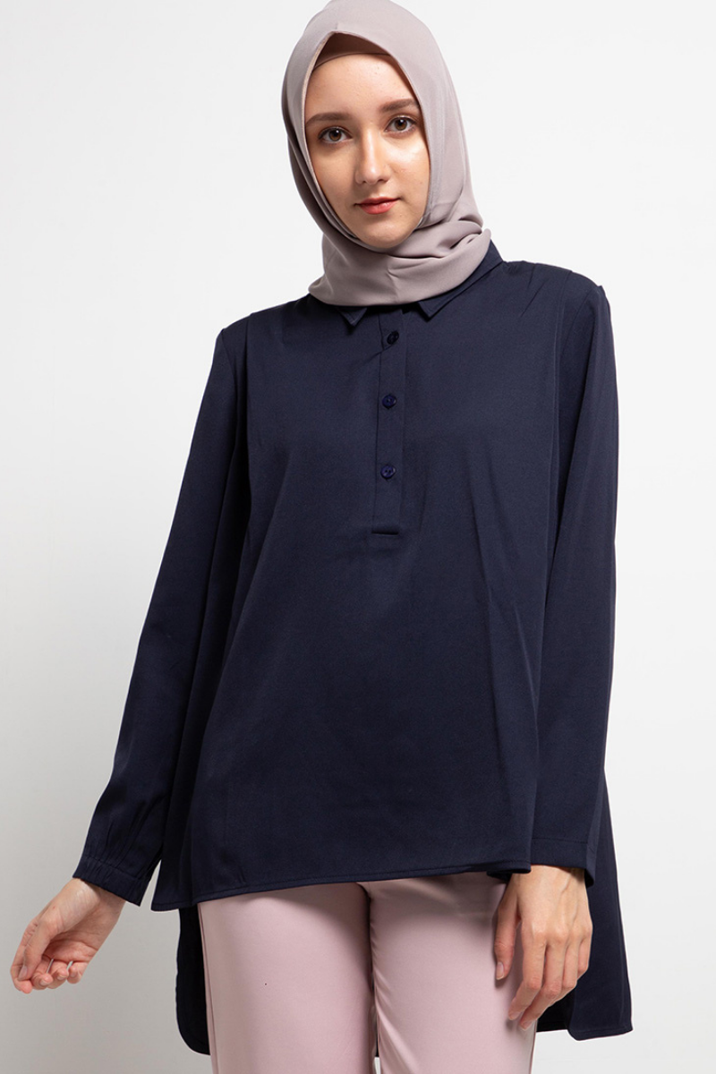 Currator Shirt Trendy Blue - L.tru
