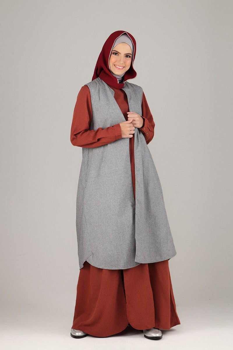 Scandinavian Tunik Outer Grey