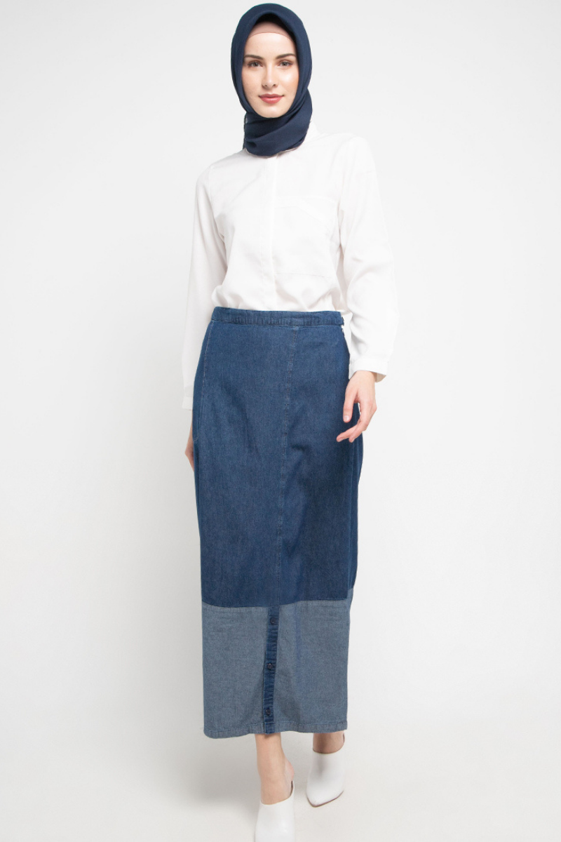 Brinkley Skirt Denim 0890 0320