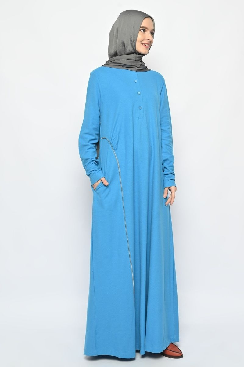 Arvel Dress Plain Blue 0321