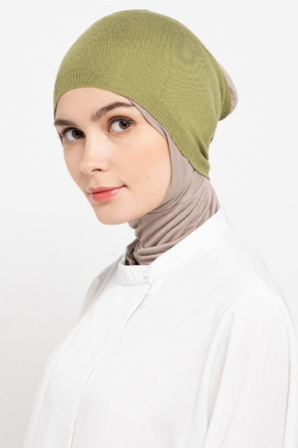 Headband Knitting Green Olive - L.tru