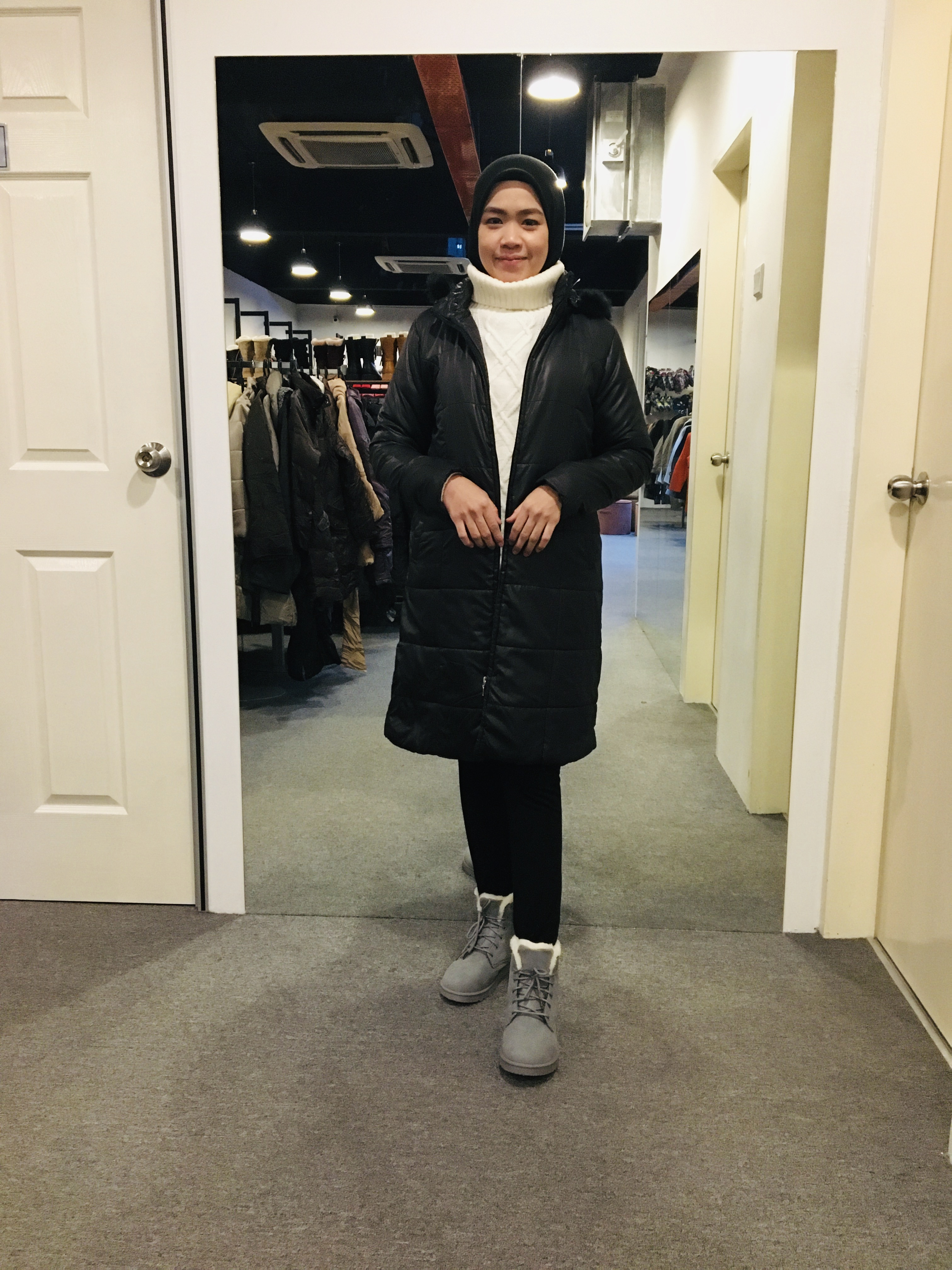 BJ0937 GOOD DAY HOUSE WINTER JACKET