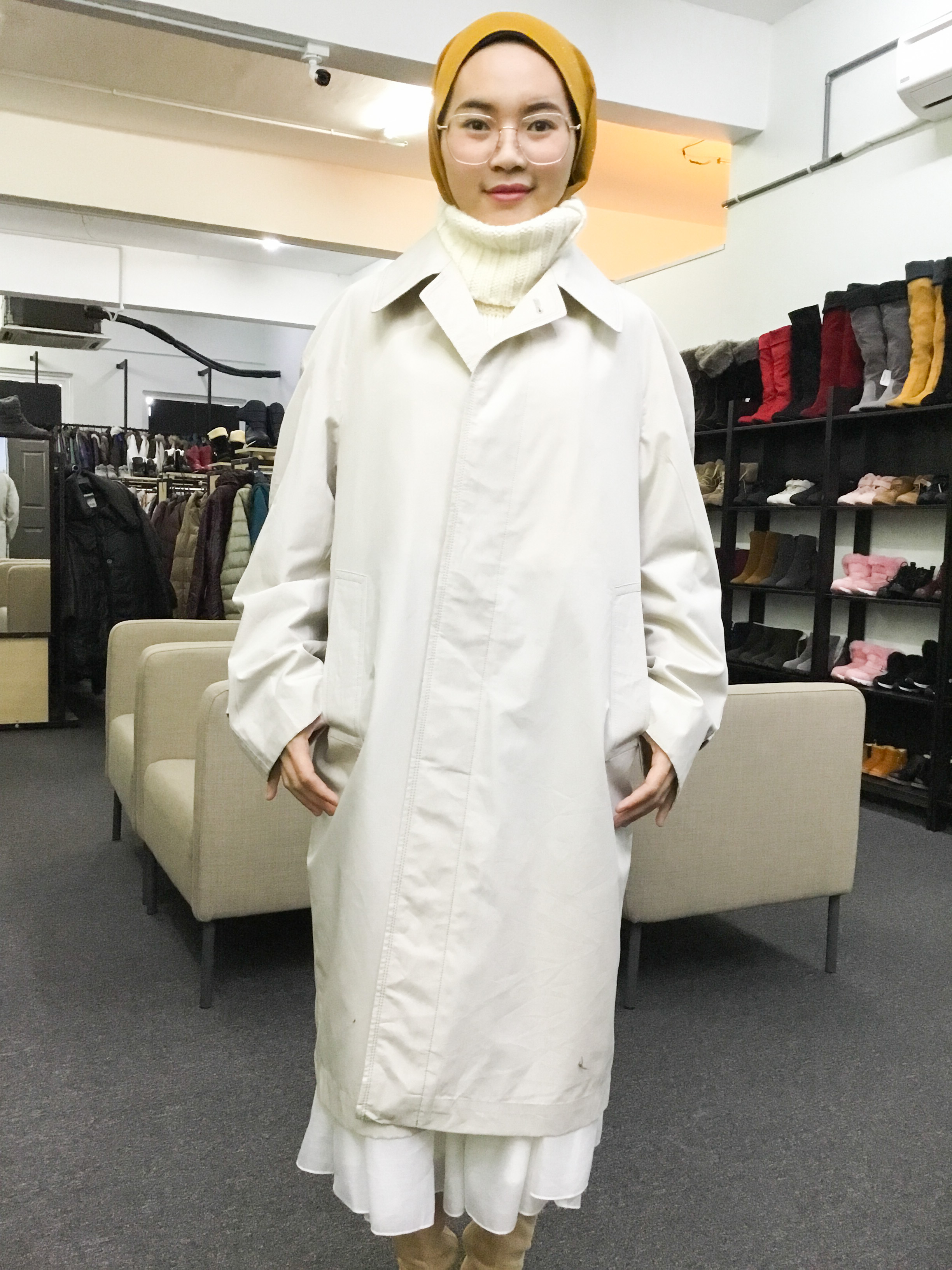 BP6474 TOPRUN TRENCH COAT
