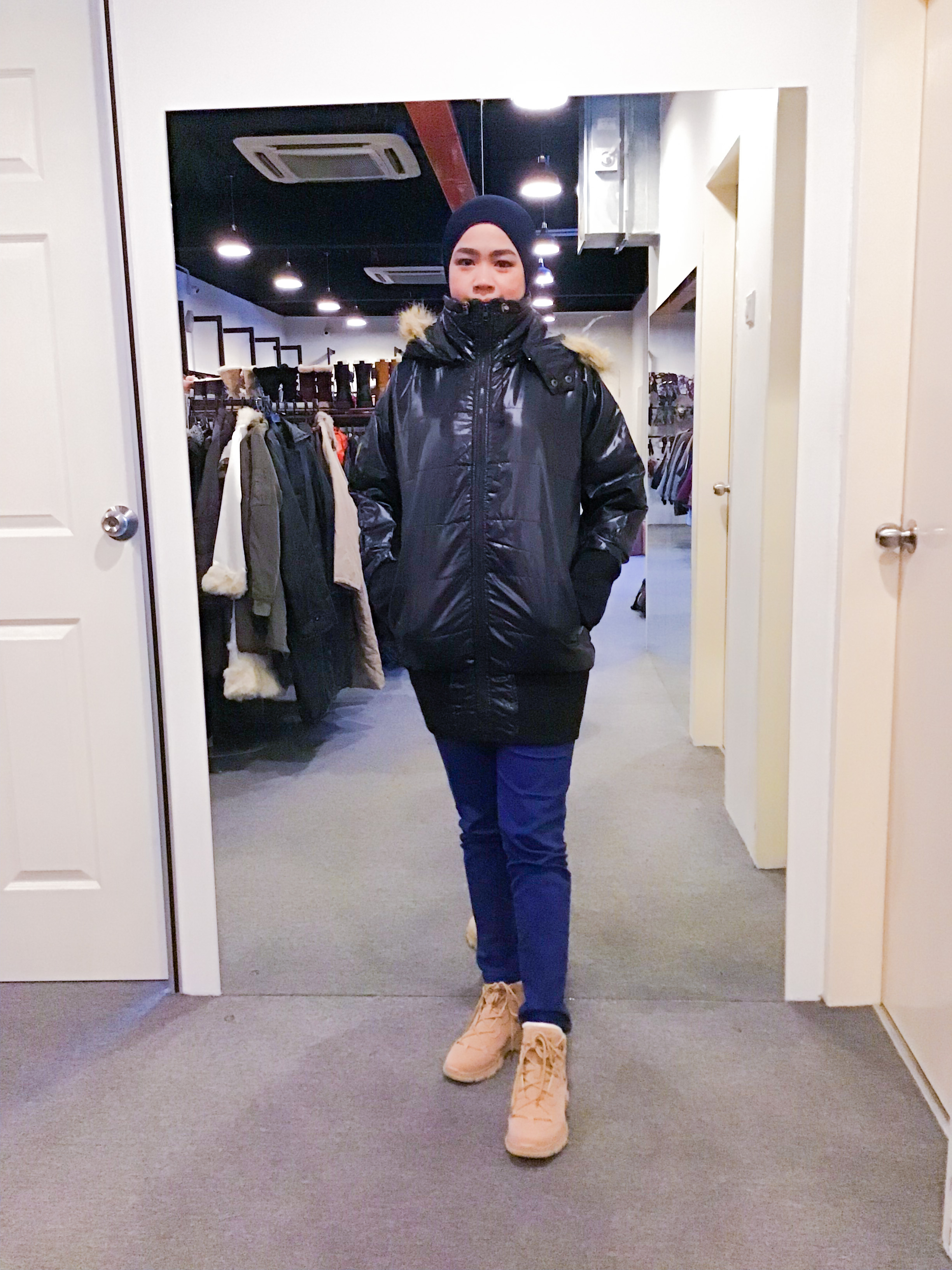 BJ1159 JAYRO WHITE WINTER JACKET