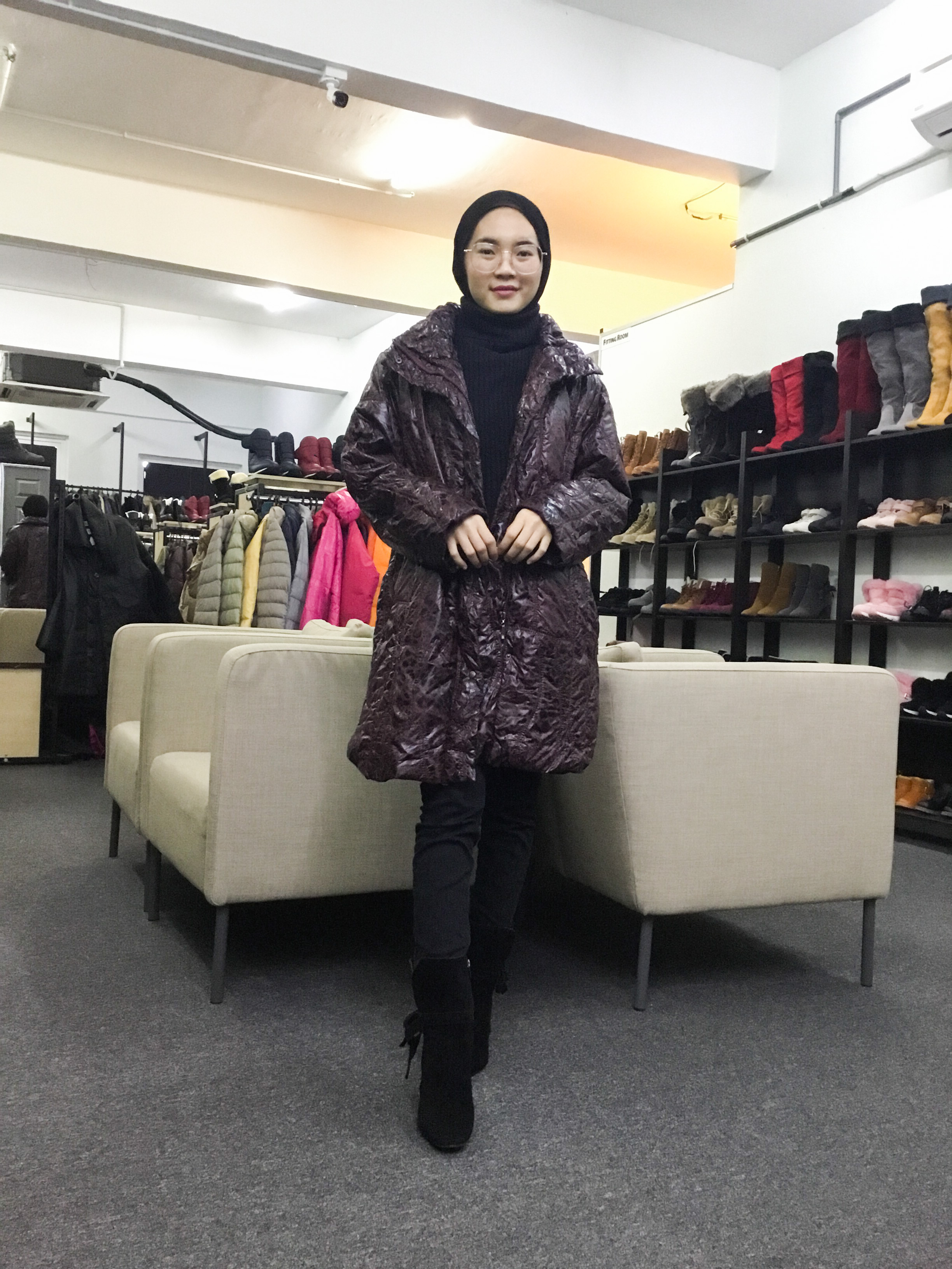 BP6442 LADIES FASHION WINTER JACKET