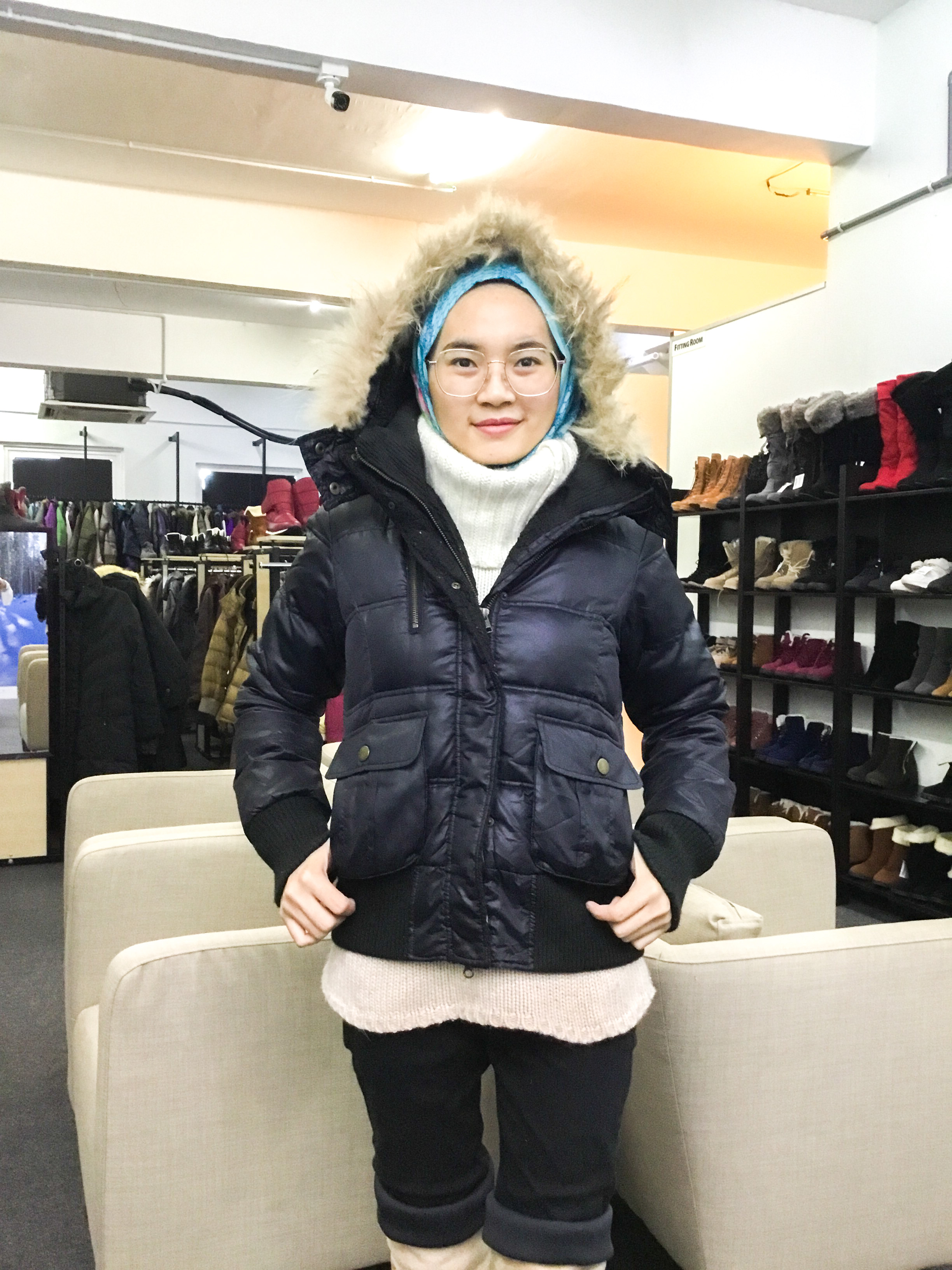 BP6139 SL BY P&D DOWN JACKET