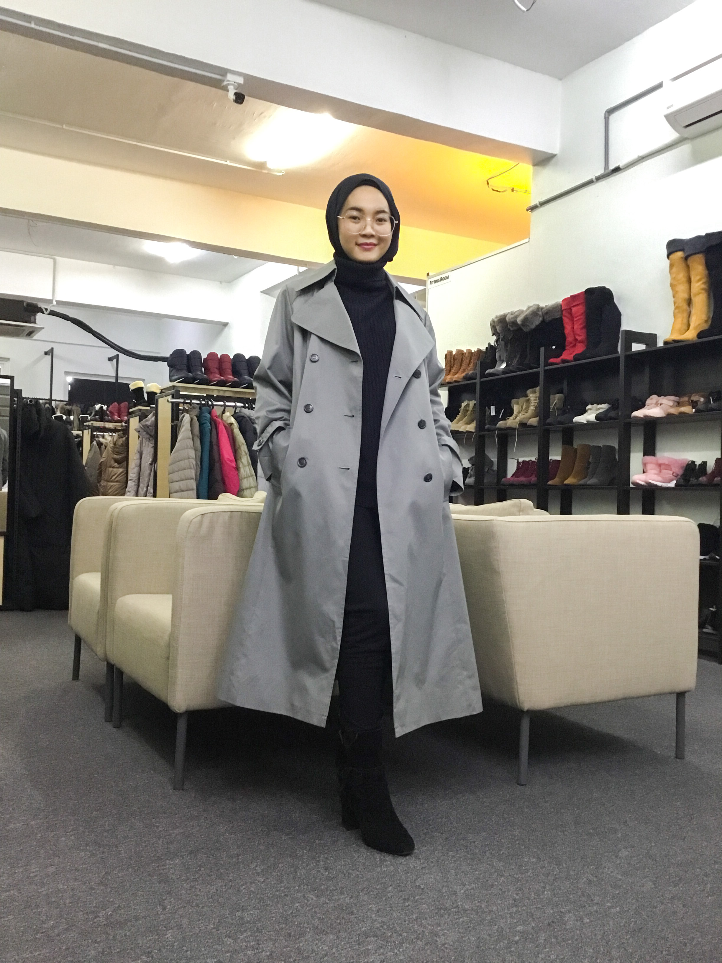 BP6341 SANYO CARAT TRENCH COAT