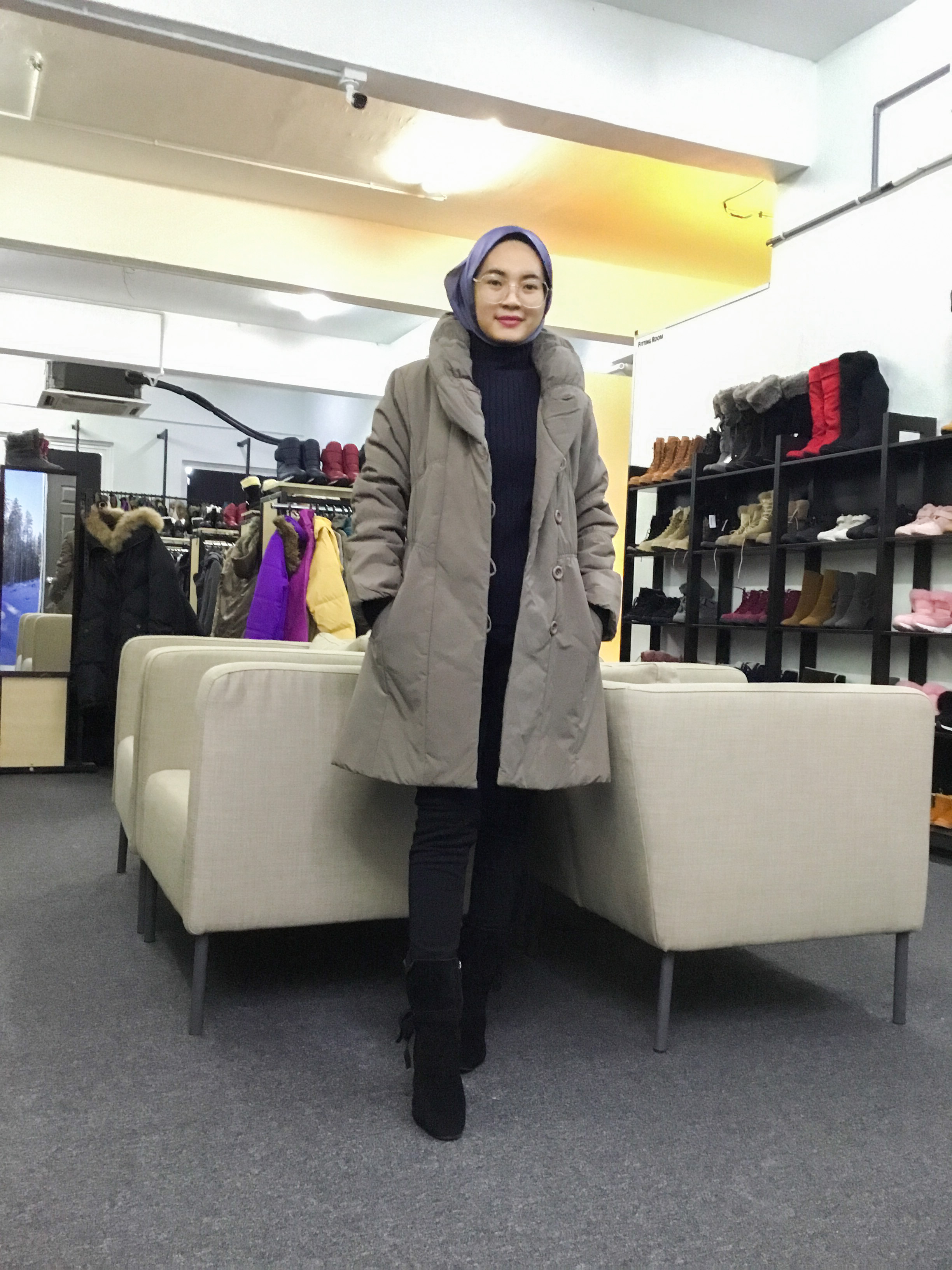 BP6386 SUNAUNA WINTER JACKET