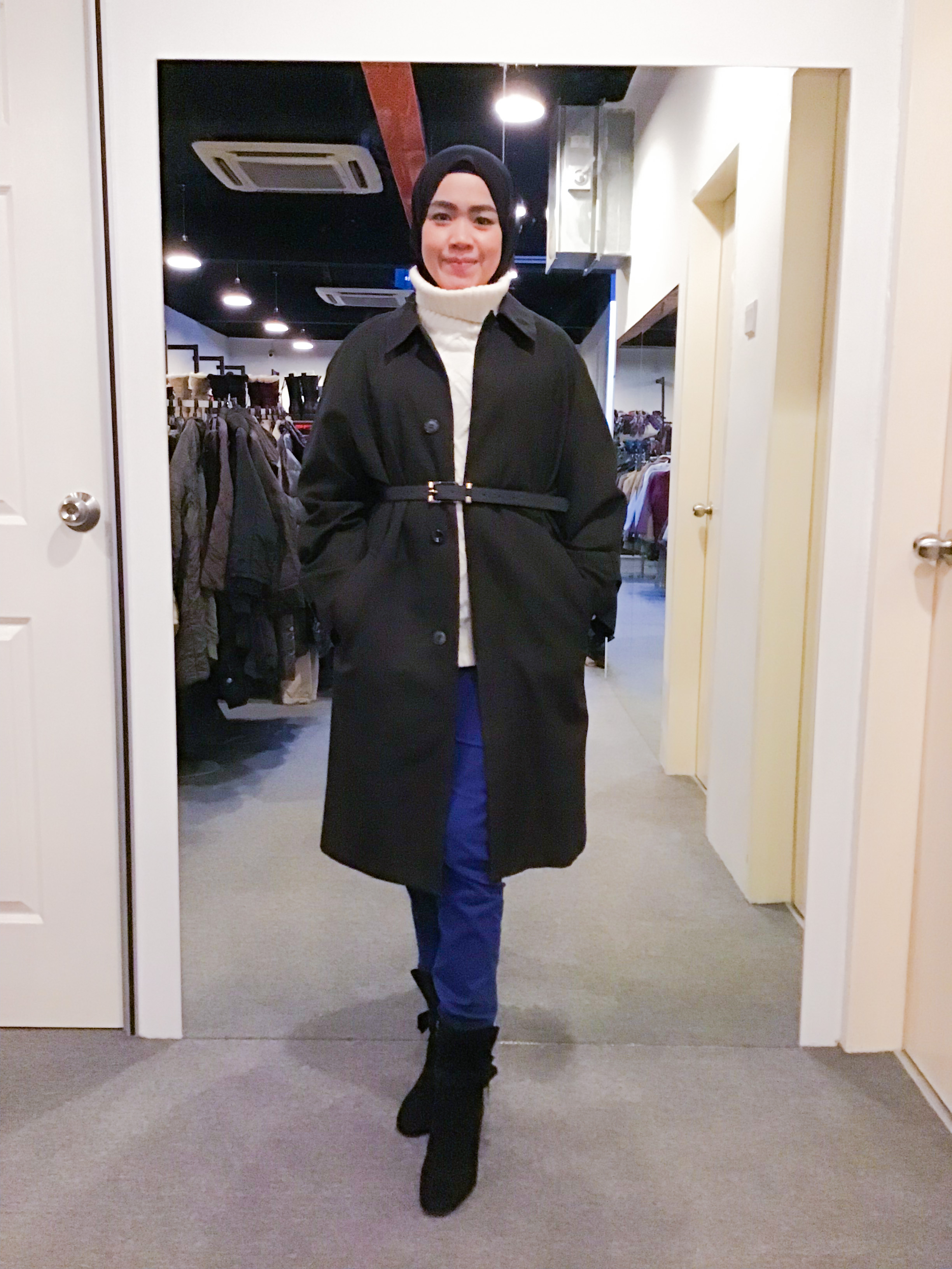 BJ1087 STRONG RIVER TRENCH COAT