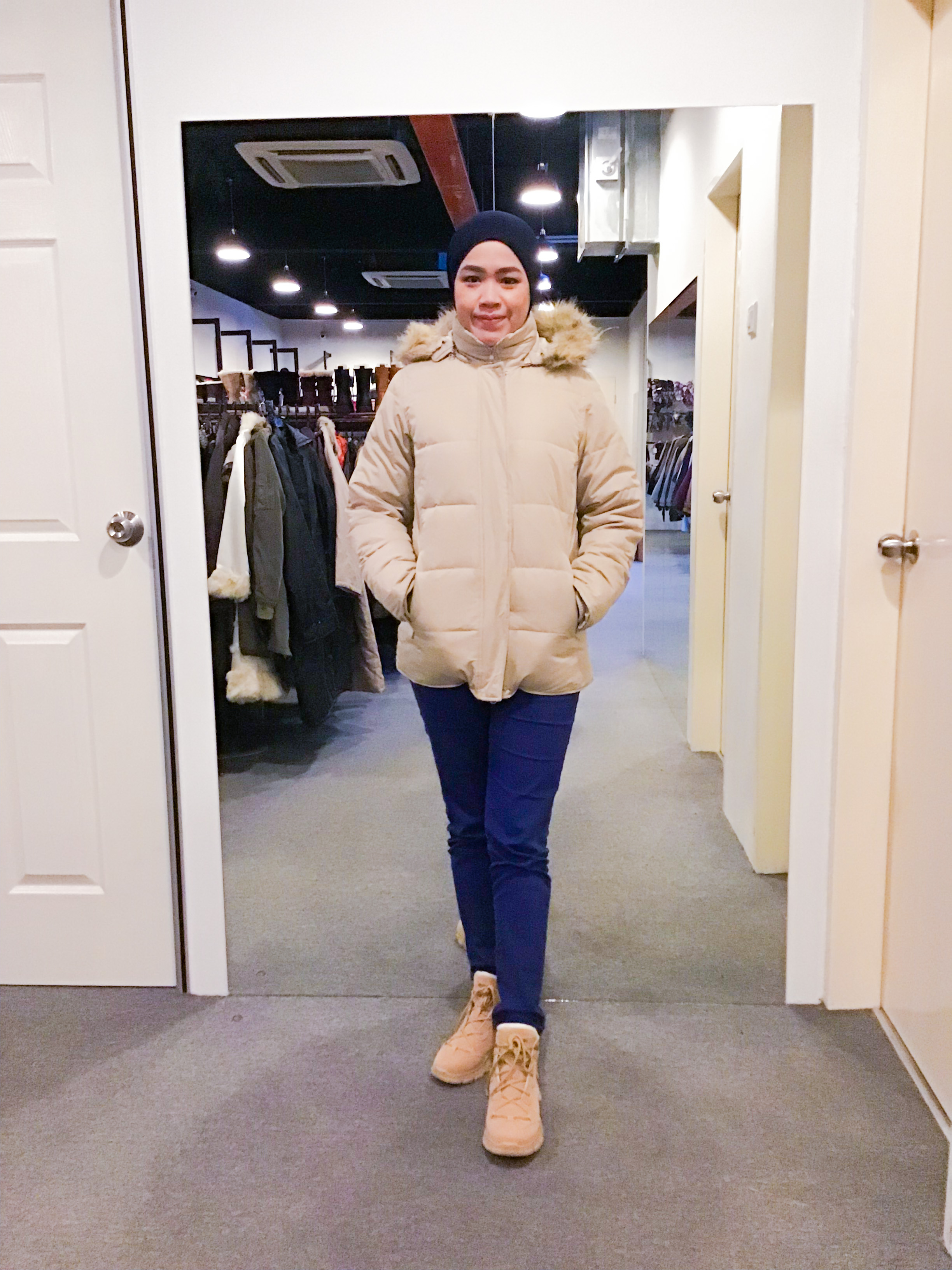 BJ1147 OLD NAVY DOWN JACKET