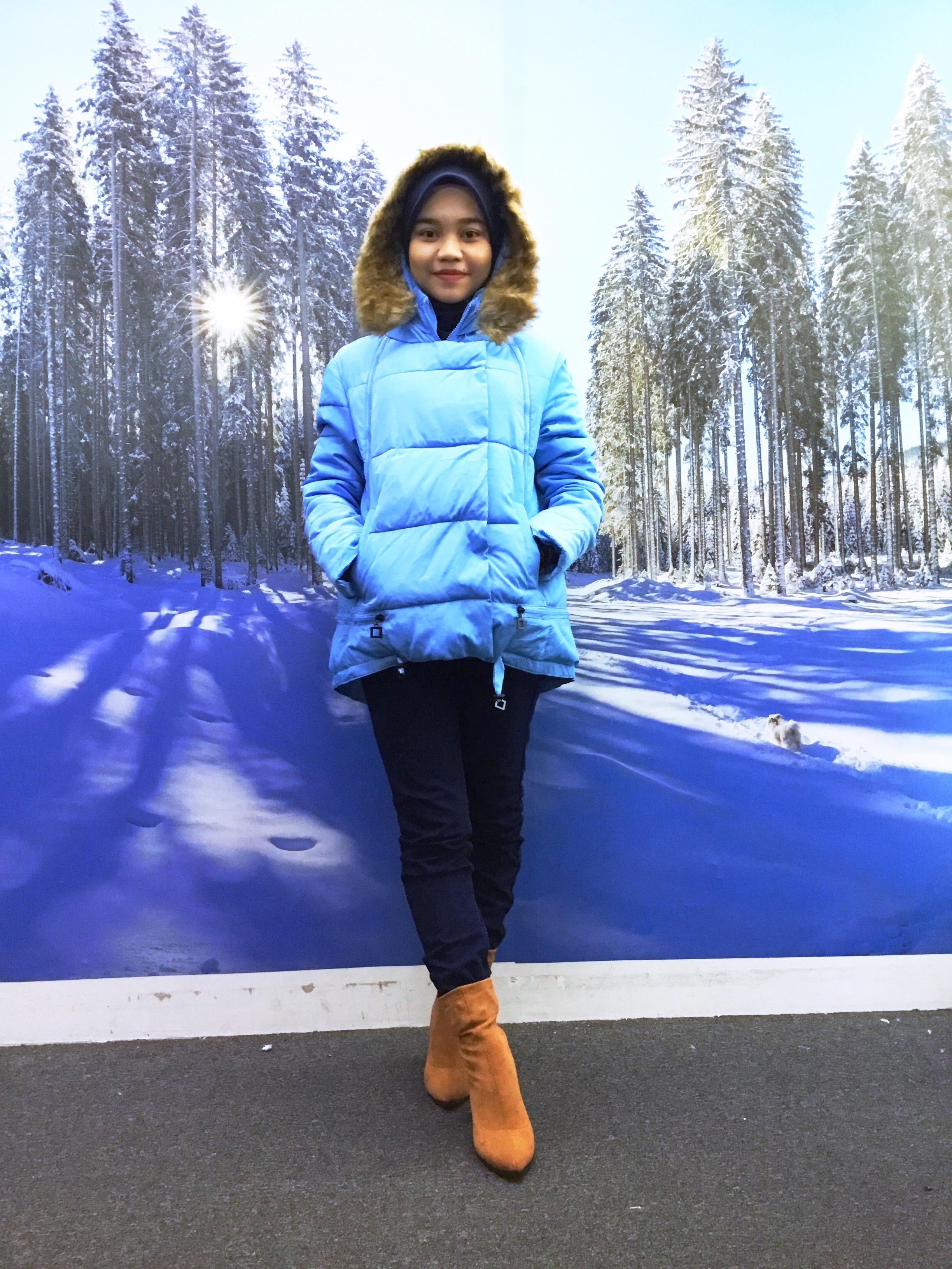 BP5112 BLUE WINTER JACKET