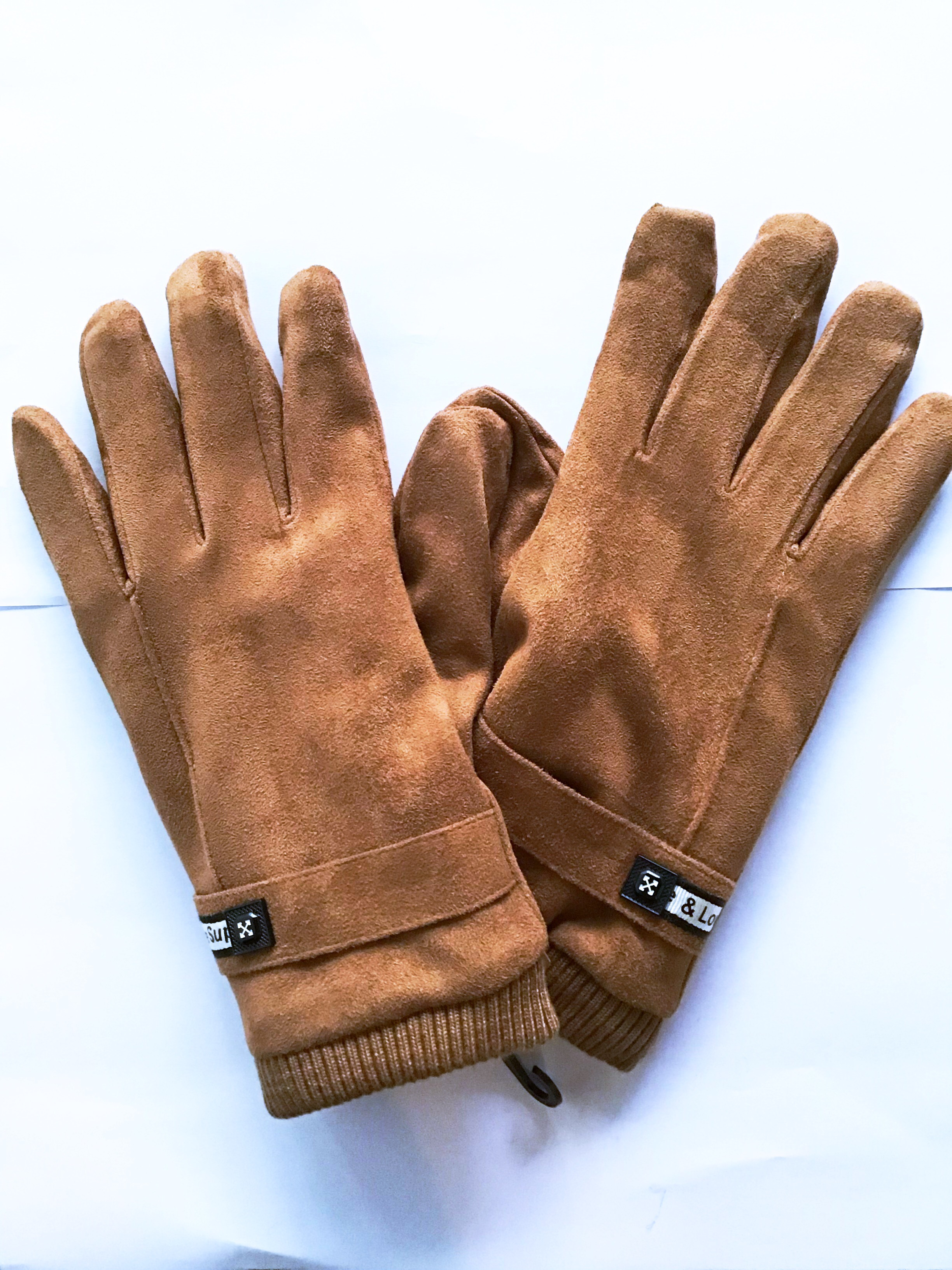 GLOVE COTTON WITH FURR (BRAND NEW)