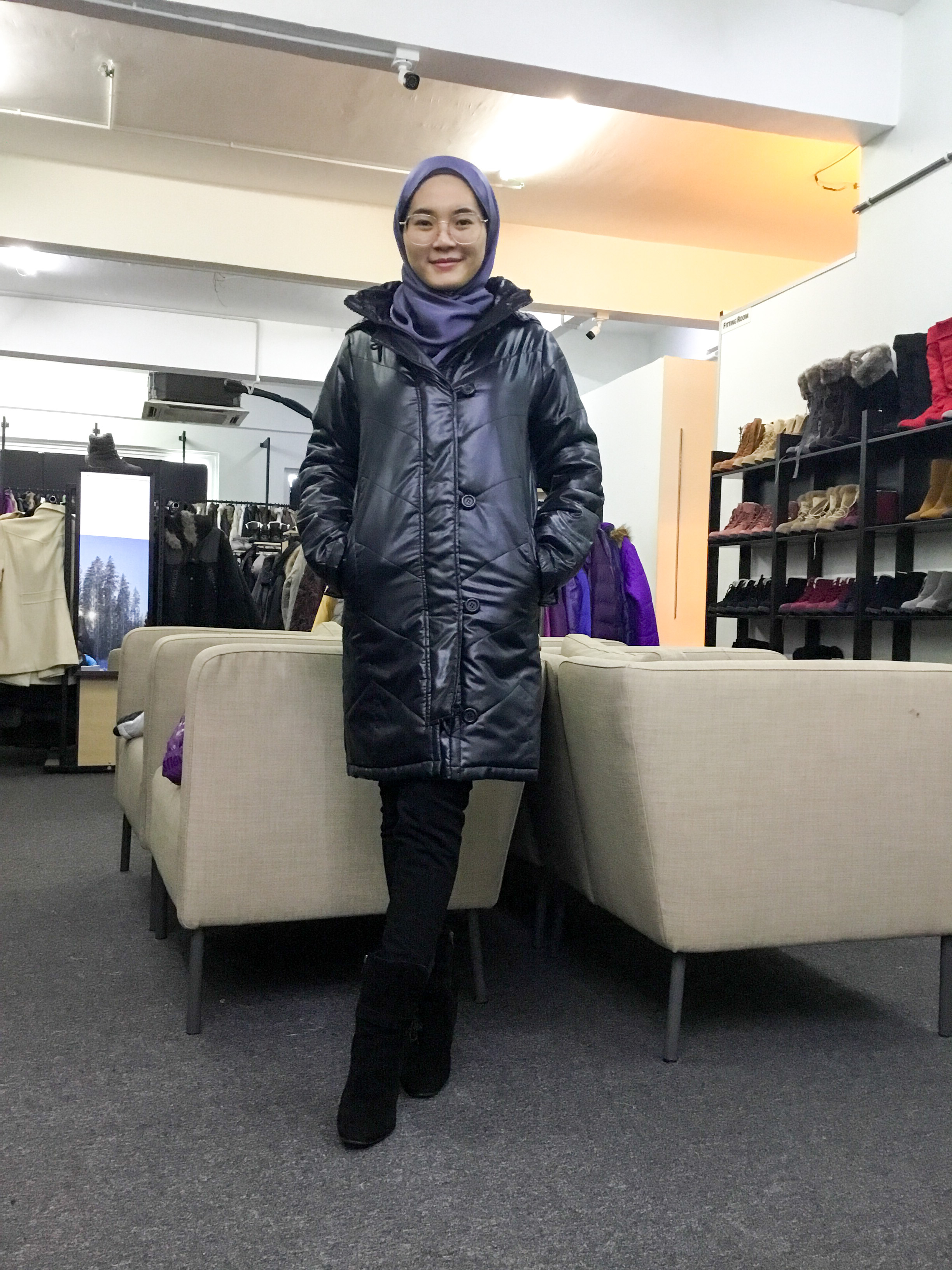 BP6737 ONE WAY WINTER JACKET