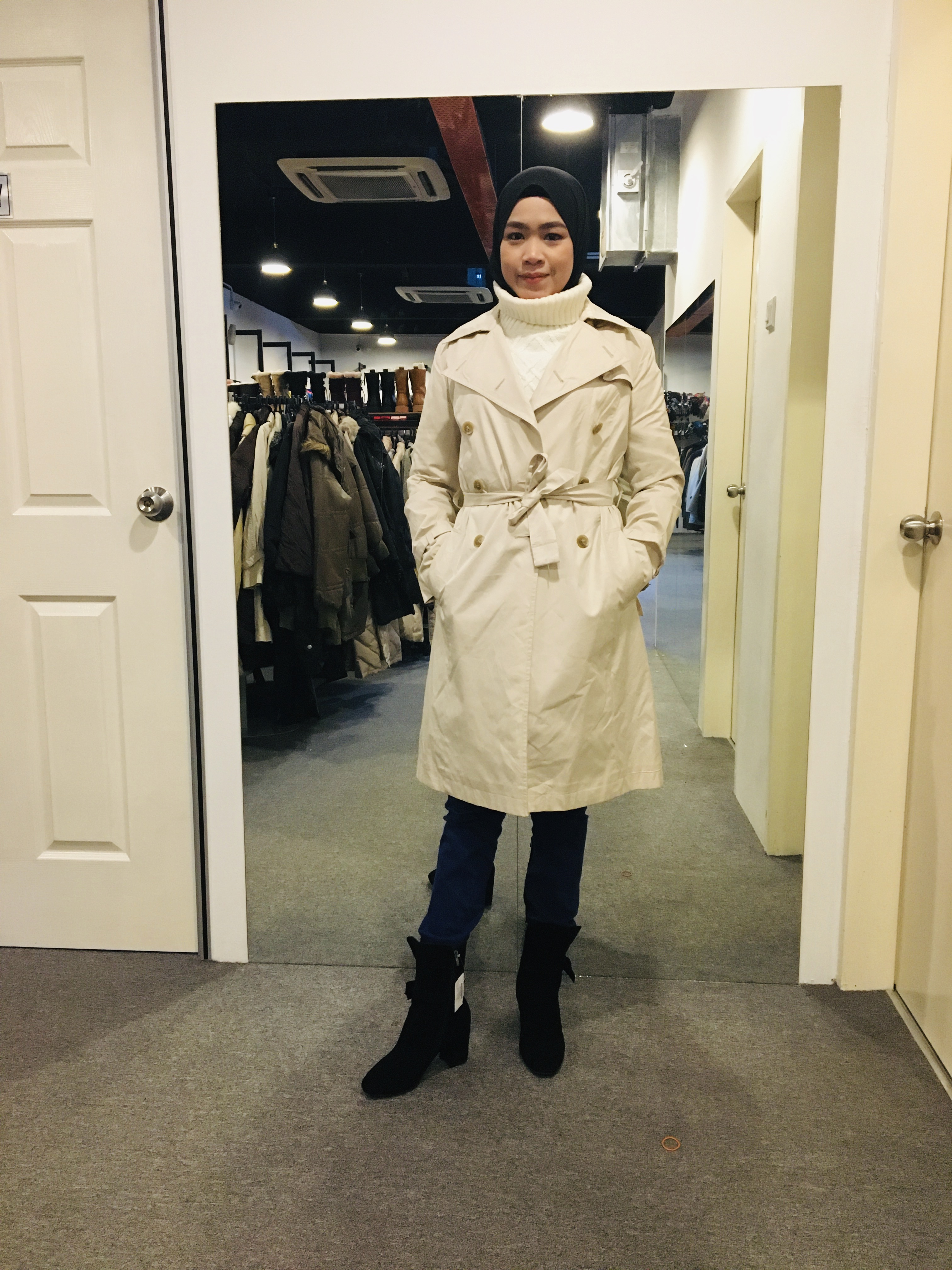 BJ0977 PROPORTION TRENCH COAT