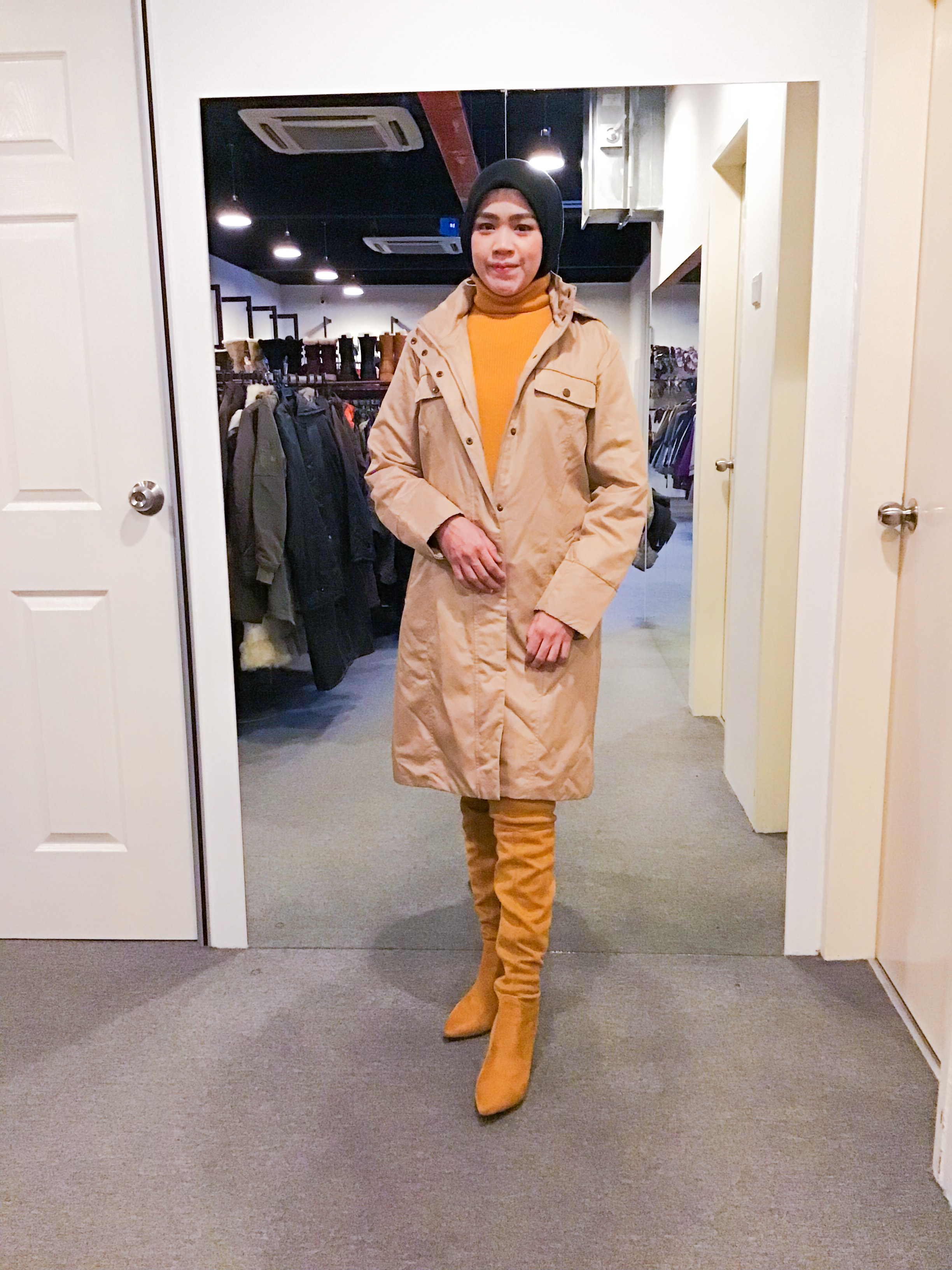 BJ1137 UNIQLO WINTER JACKET