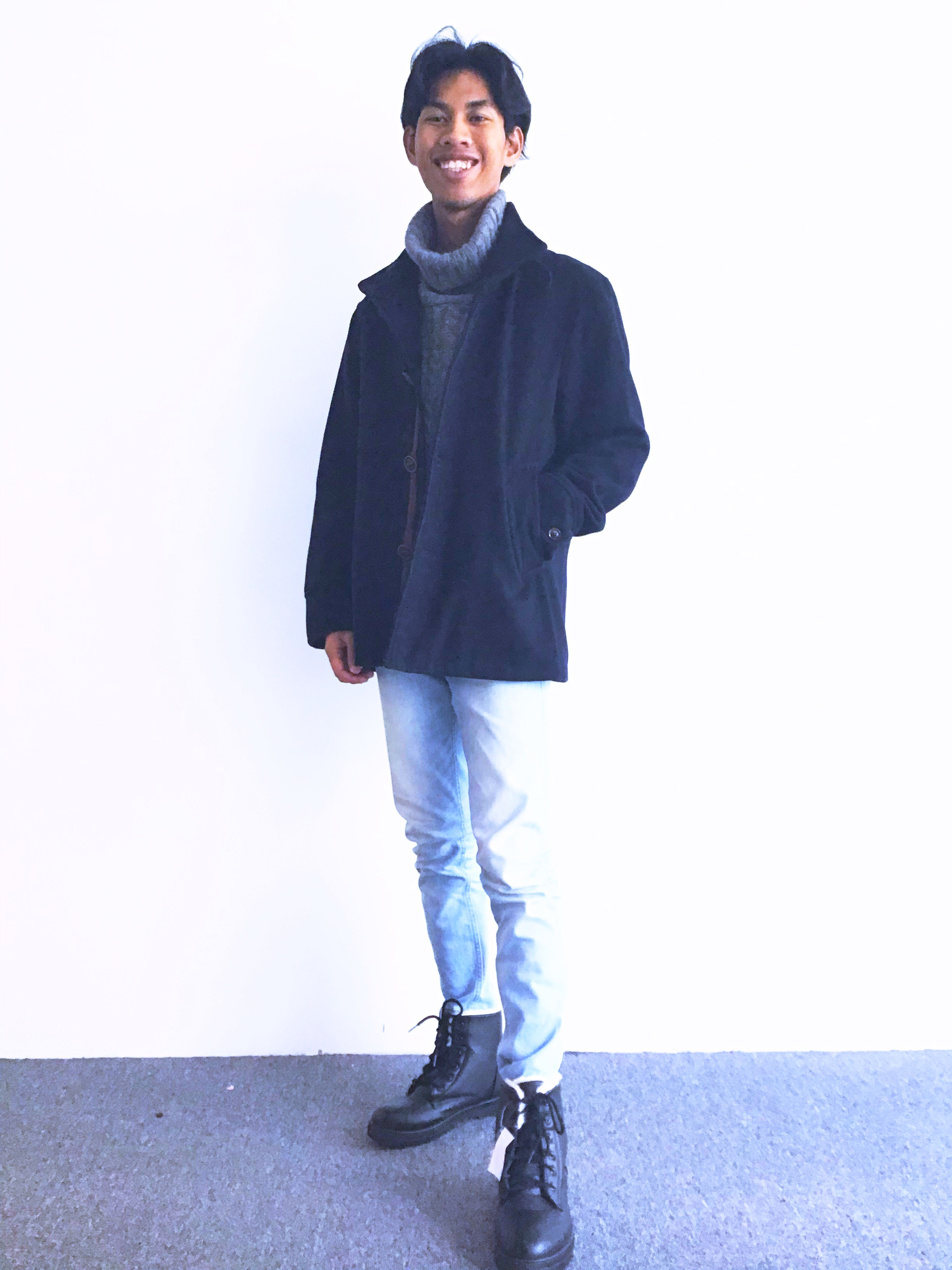 BJ0049 FIELD/DREAM WOOL COAT
