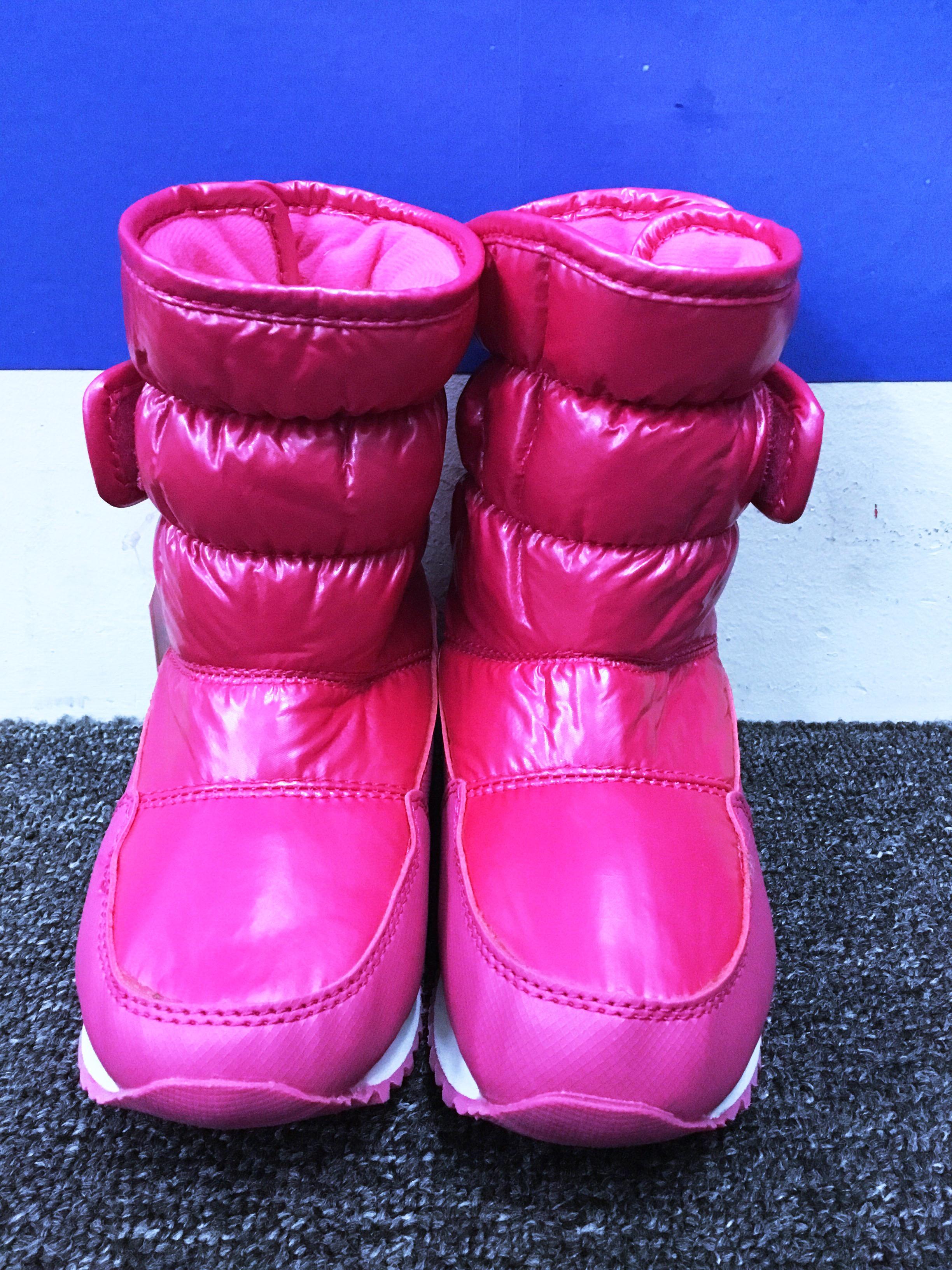SNOW BOOTS KIDS ANGKLE WATERPROOF & ANTI SLIP