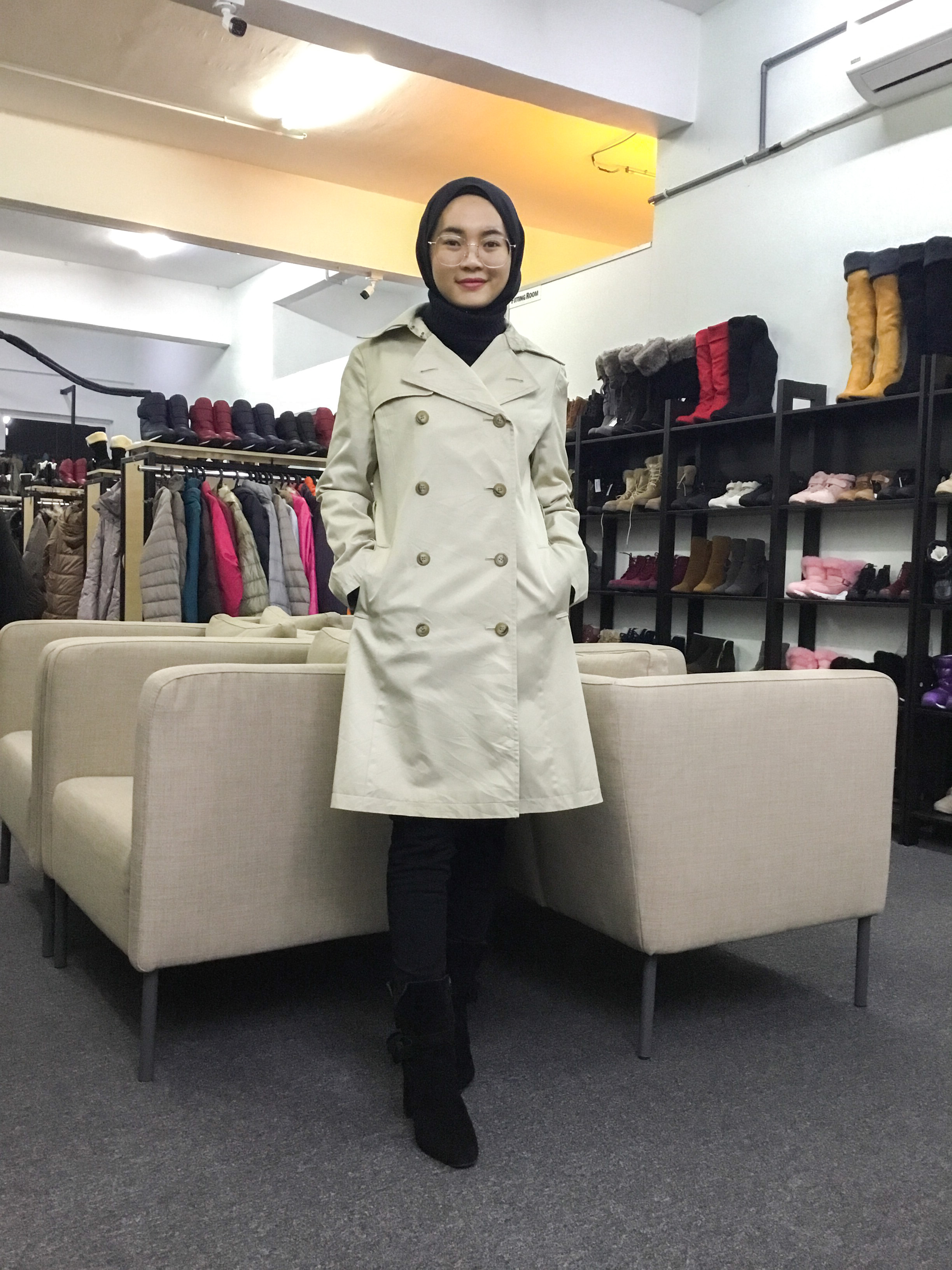 BP6340 LISSEO TRENCH COAT