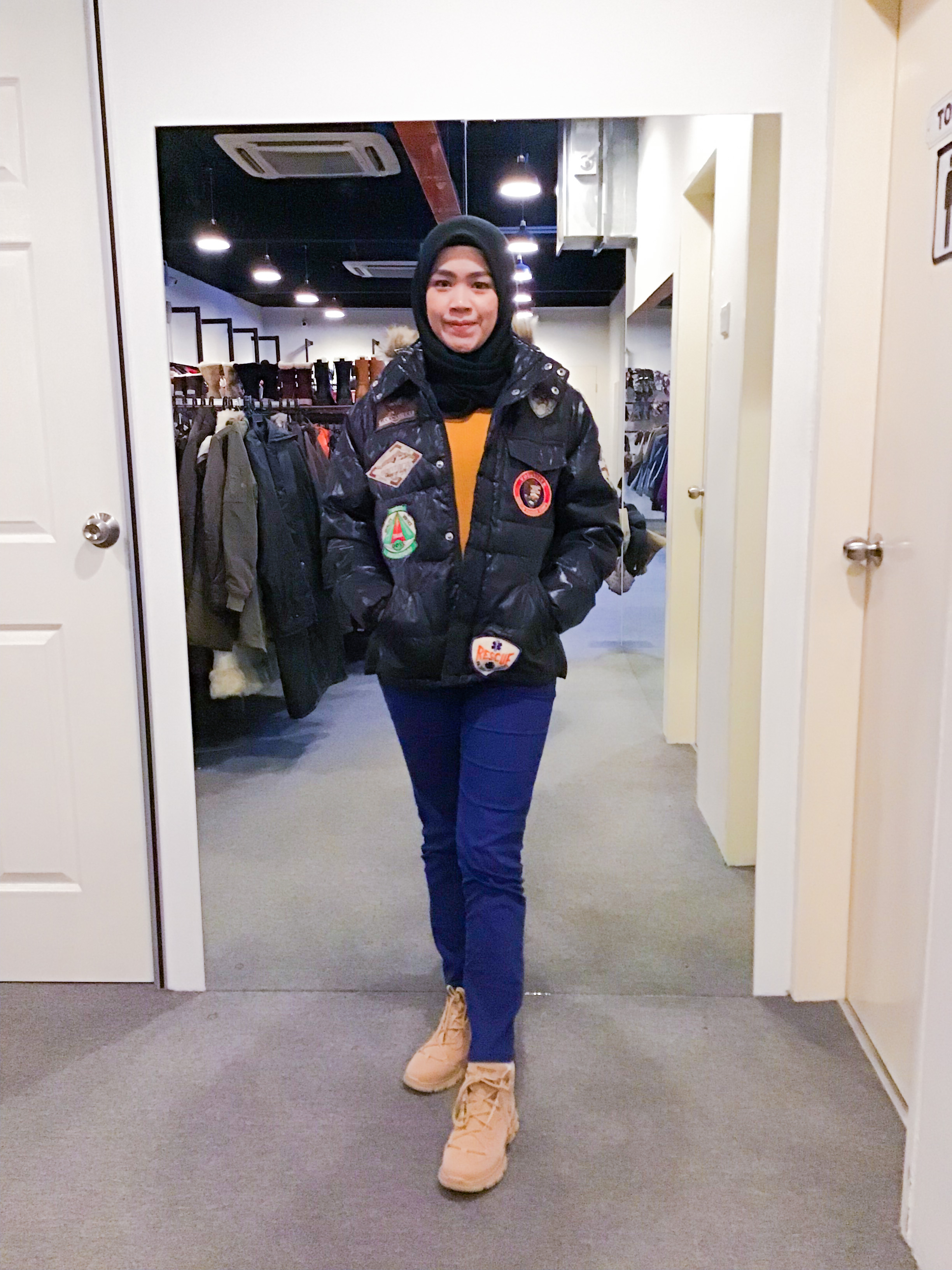 BJ1142 HOUSE OF BLUE WINTER JACKET